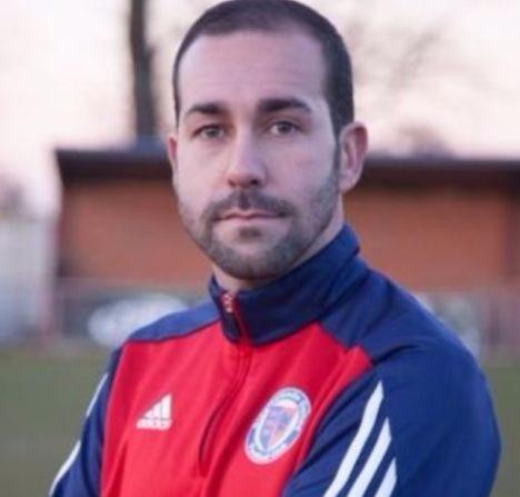 Cristian Colas, entrenador del Biggleswade United