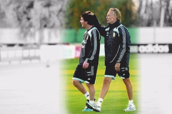 Messi con Signorini