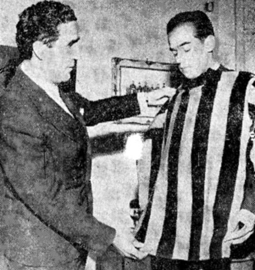 Helenio Herrera y Luis Suárez