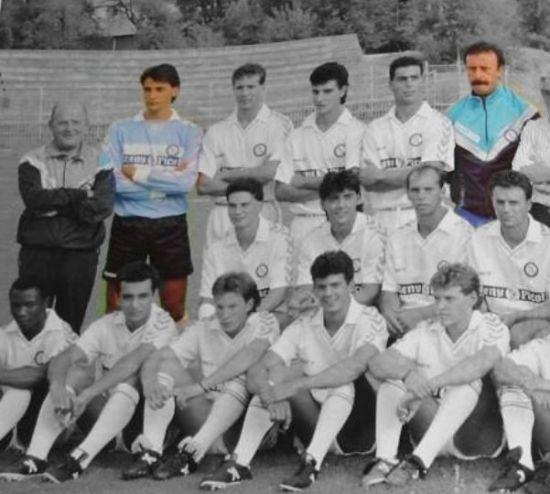 Real Madrid Castilla 89-90 con Diezma y Del Bosque