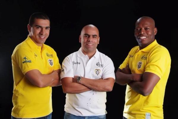 Aristizábal, Chicho Serna y Faustino Asprilla