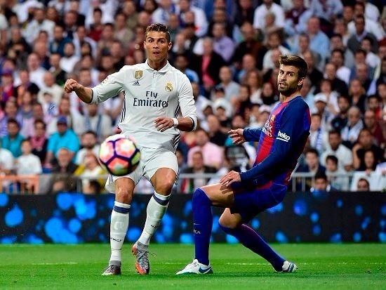 Cristiano Ronaldo y Gerard Piqué un duelo habitual