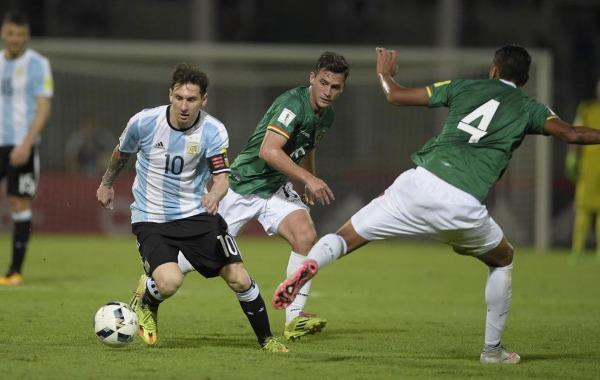 Messi pone difícil las temporizaciones defensivas