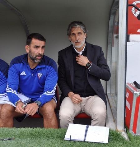 Miguel Alonso junto a Pablo Alfaro